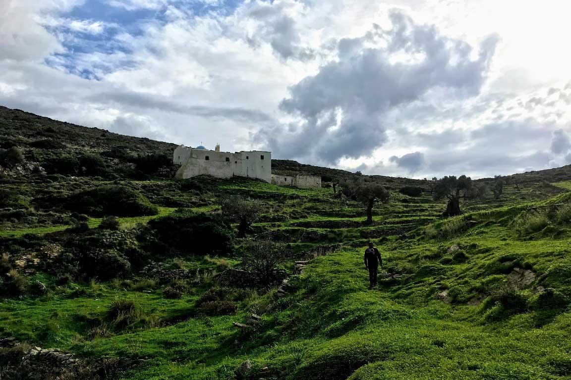 Walking-uphill-to-Aghia-Kyriaki-Monastery-Paros-island-Cyclades-Greece