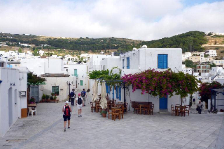 Walking-tour-in-Lefkes-village-Paros-island-Cyclades-Greece