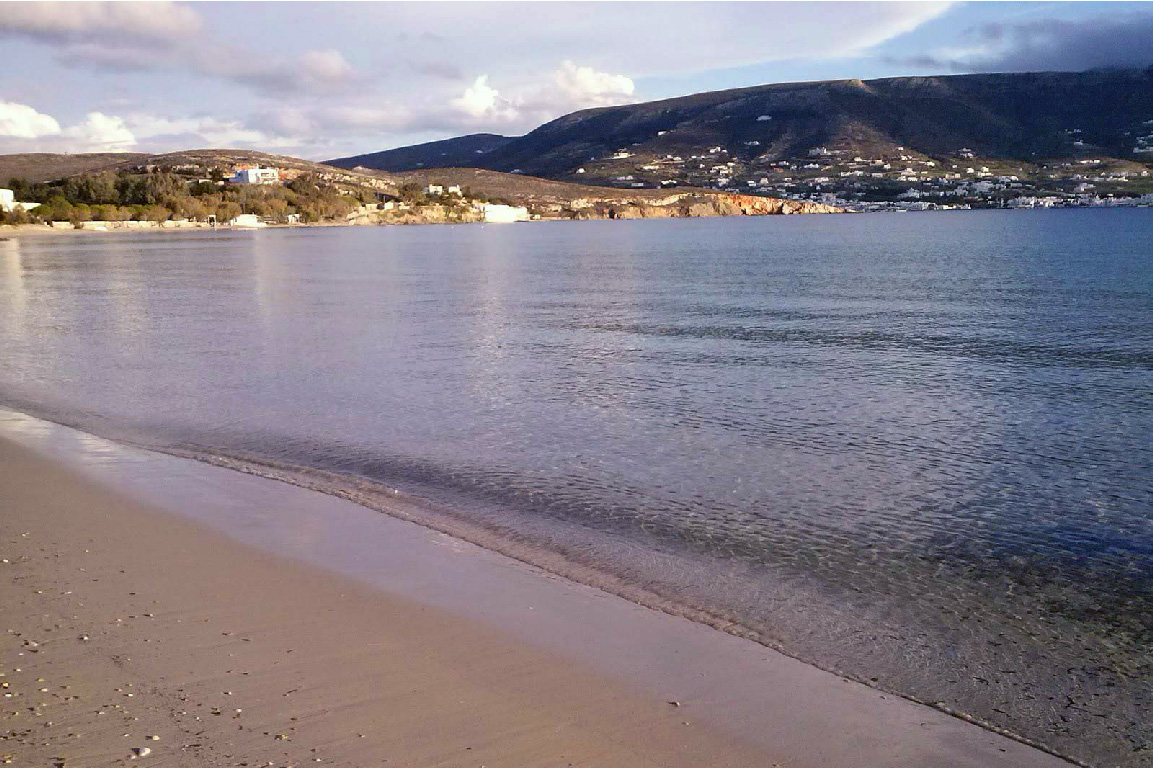Martselo-beach-walk-Paros-island-Cyclades-Greece