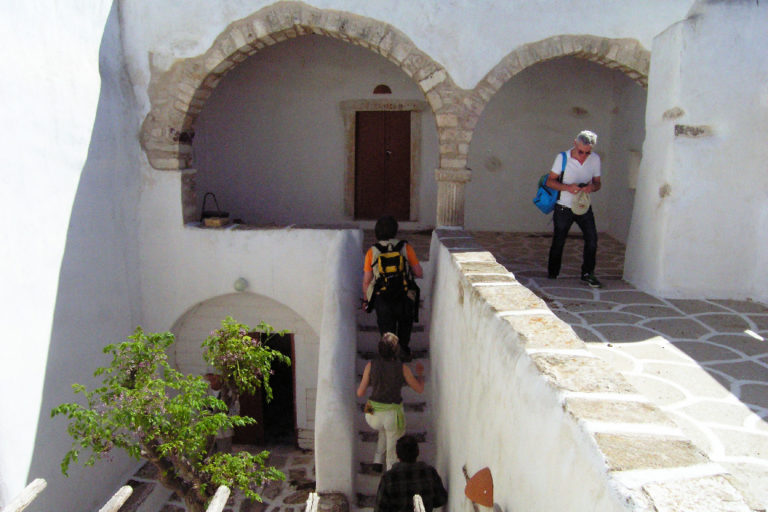 Visiting-the-Monastery-of-Aghios-Minas-Paros-island-Cyclades-Greece