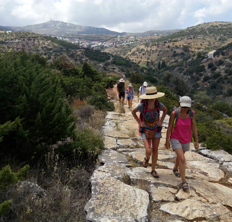 Guided-Paros-tour-Walking-on-Byzantine-Way